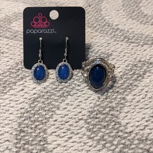 New matching ring and earrings